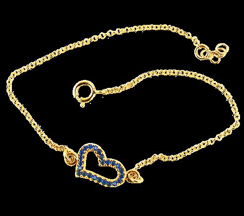 Sparkle Heart Bracelet