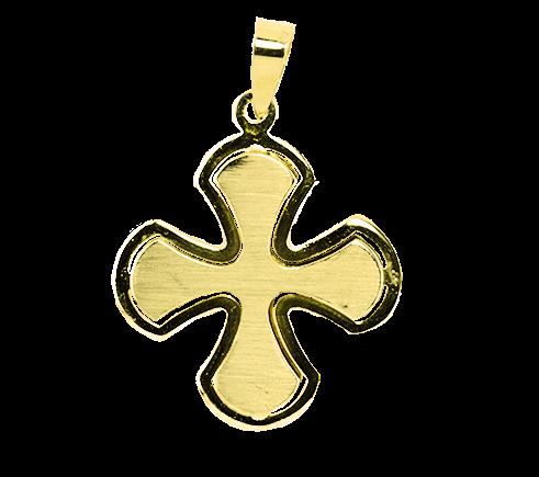 Petal Cross Pendant