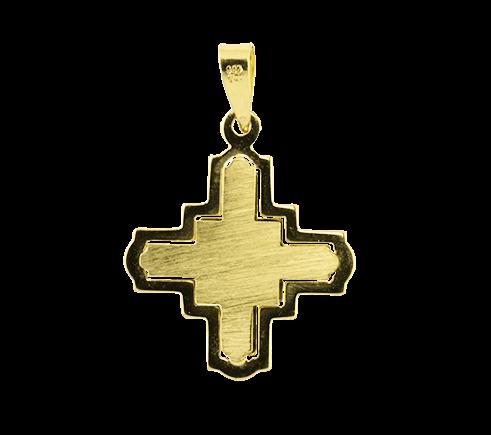 Box Cross Pendant