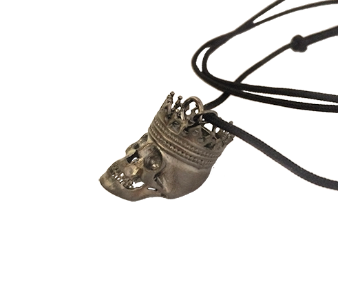 King Skull Necklace